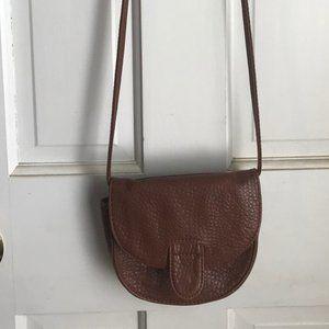 Brown Leather Crossbody/Shoulder Bag